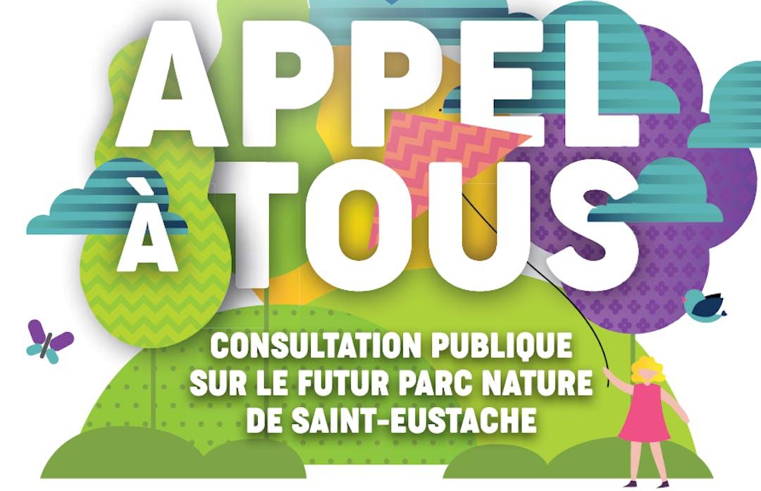 Consultation publique futur parc nature de Saint-Eustache