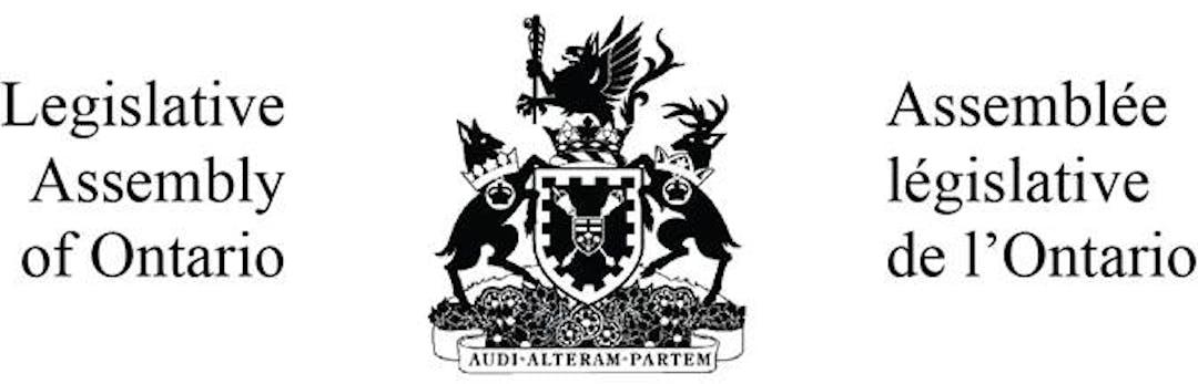 Logo for Legislative Assembly of Ontario