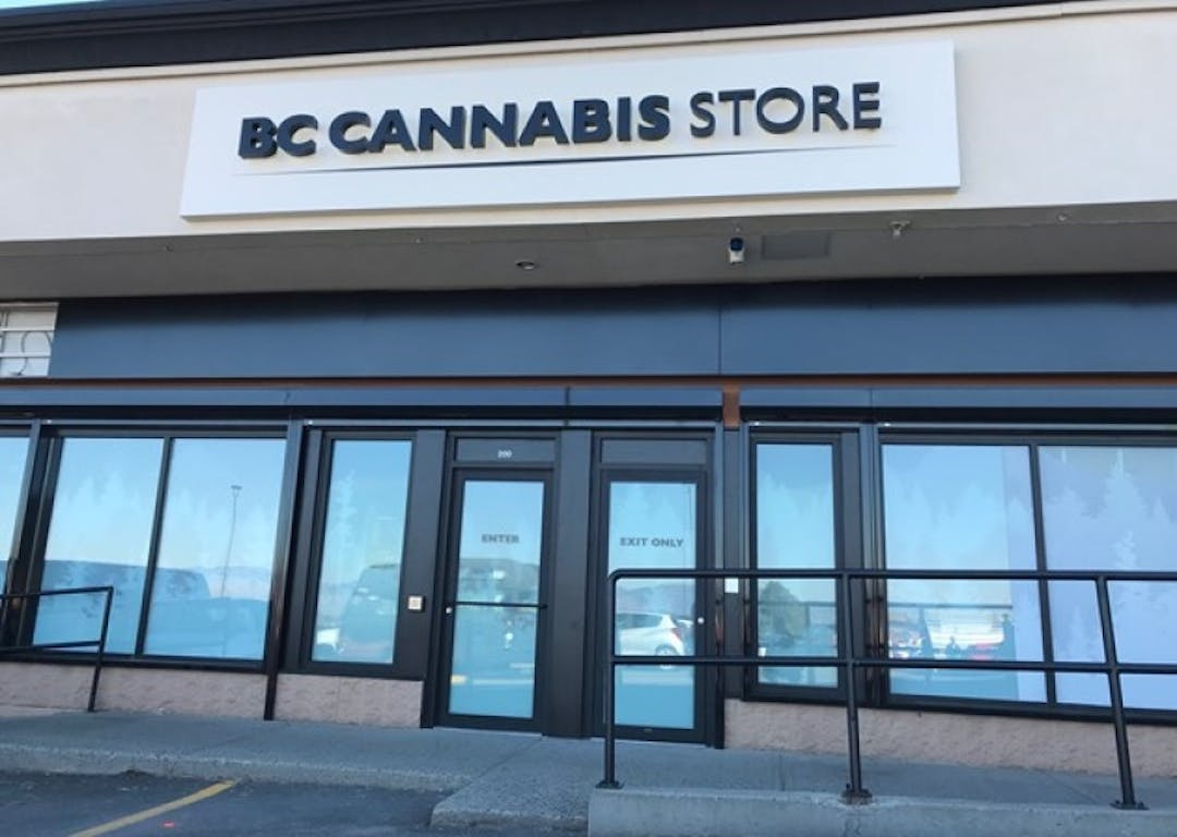 The b c cannabis store in kamloops is located in the columbia place shopping centre photo tereza v