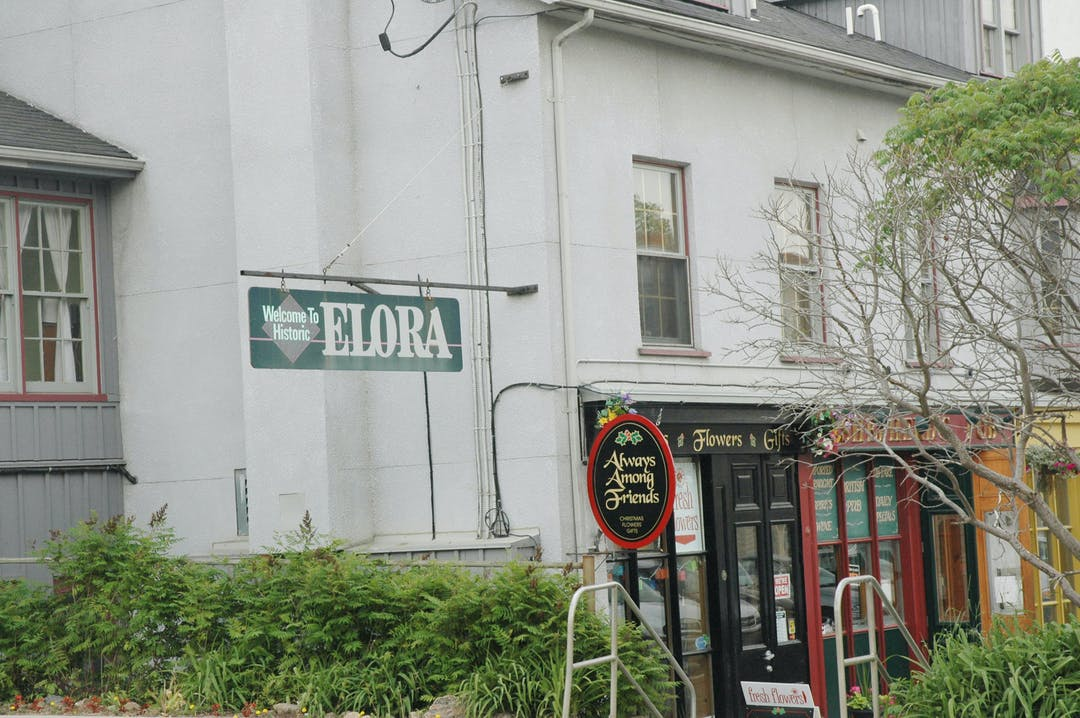Elora downtown sign1