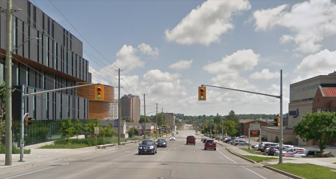 University Avenue and King Street Intersection